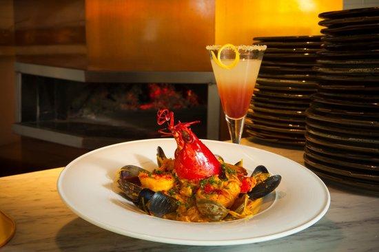 Figue Mediterranean Restaurant : Fideua