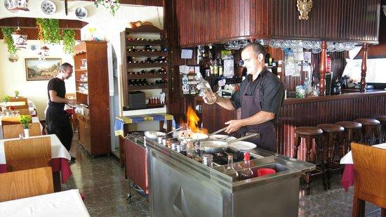 Restaurant Fernando : Interiør