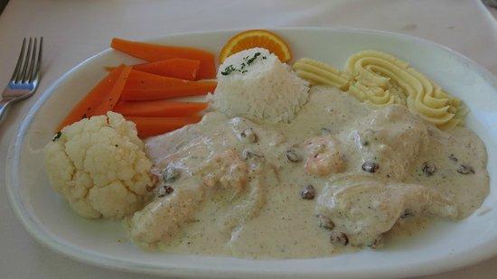 Restaurant Fernando : Flambert sjøtunge