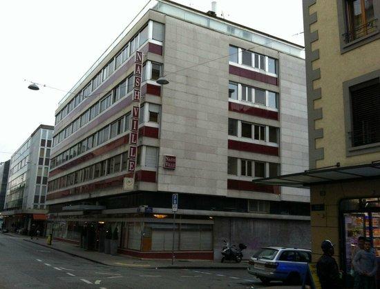 Hotel Nash Ville: un hôtel très glauque dans un quartier dangereux