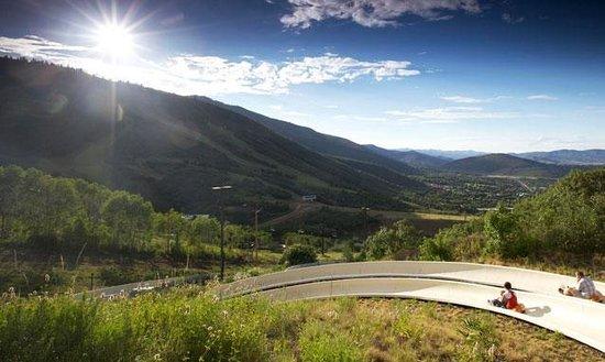 Summer Alpine Slide at Park City Mountain Resort.