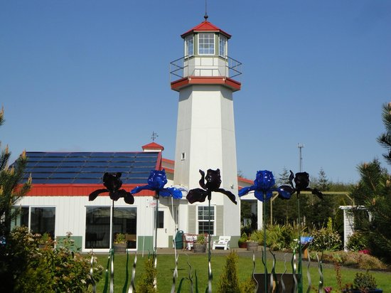 Westport Winery: Lighthouse at winery