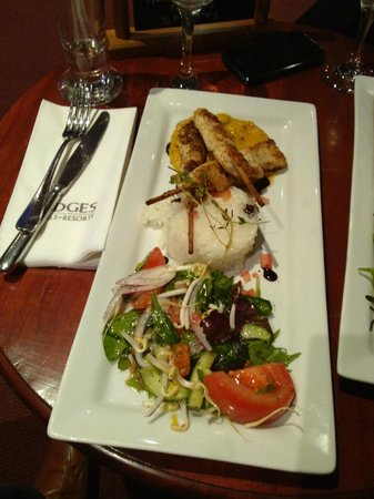 Rydges Rotorua: Chicken Skewers with Moroccan sauce