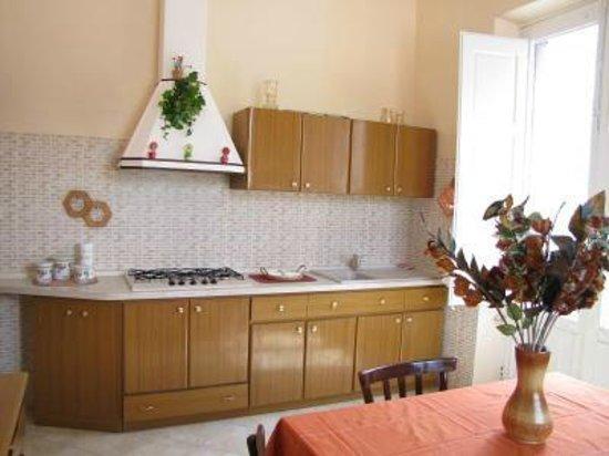 B&B I Giardini di Venere: cucina