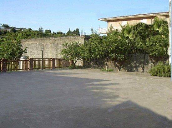B&B I Giardini di Venere: cortile
