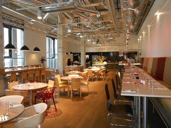 Comfort Hotel LT Rock'N'Roll Vilnius: il ristorante stile moderno