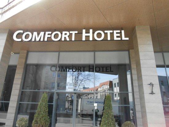 Comfort Hotel LT Rock'N'Roll Vilnius: in  gresso