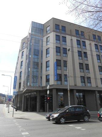Comfort Hotel LT Rock'N'Roll Vilnius : vista strada