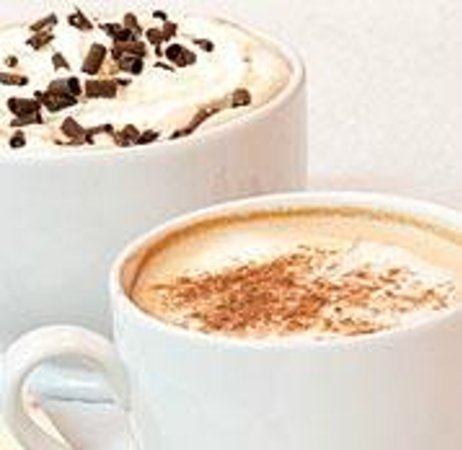 Hot Chocolates: Full Cappuccino Bar