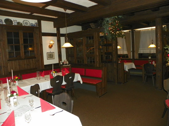 Burghaslach, Alemania: Reastaurant
