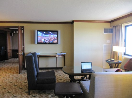 Hilton Short Hills: Executive lounge (7th floor)