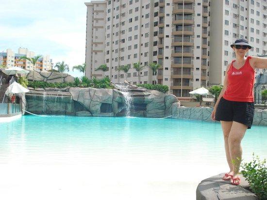 Privé Boulevard Suíte Hotel: piscina de ondas do water park
