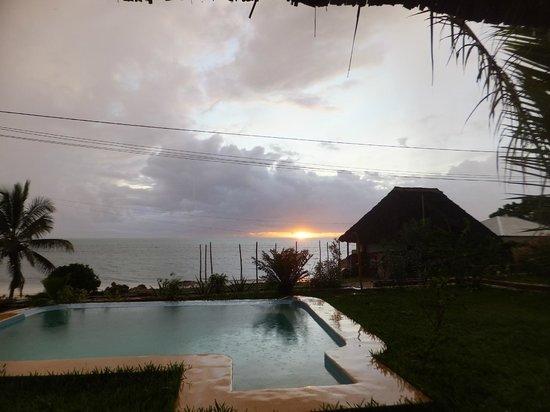 Art Hotel Zanzibar: Morgenstimmung bei Sonnenaufgang