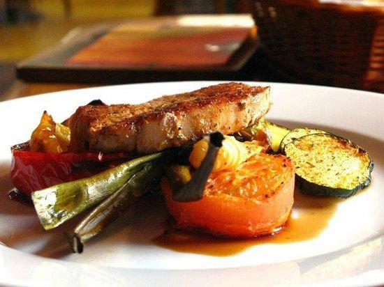 Potrefena Husa Plzen: Greek pork