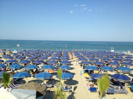 Spiaggia Privata Hotel La Pergola