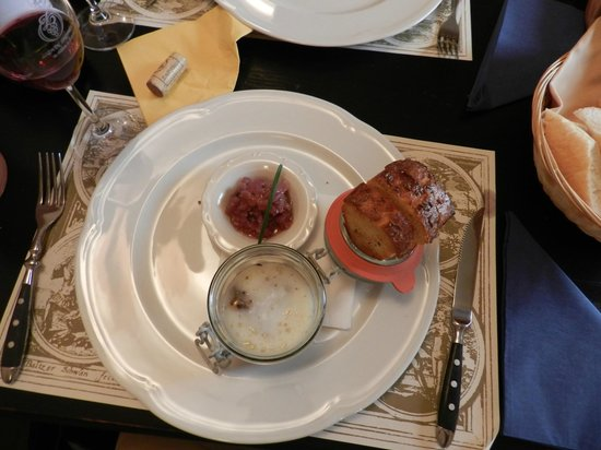 Restaurant Vikarka: Duck livers