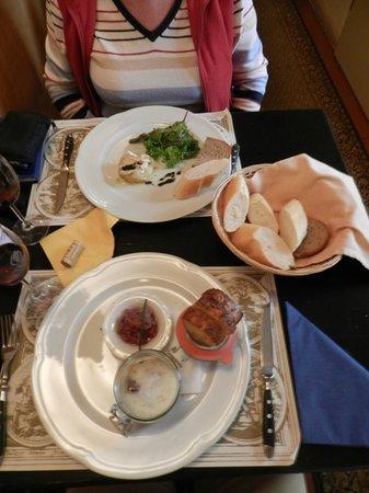 Restaurant Vikarka: Our lunch