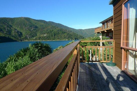 Whatamonga Homestay: 部屋のバルコニーからの眺め
