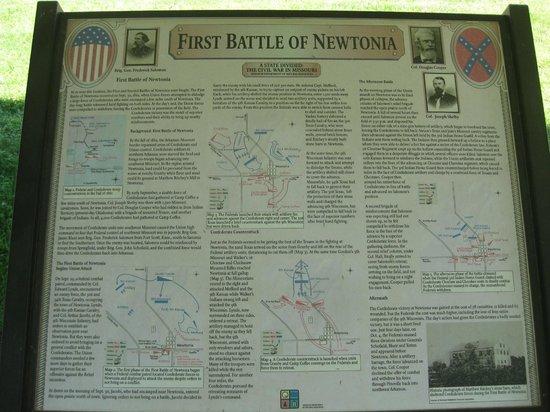 Newtonia, MO: Marker 1