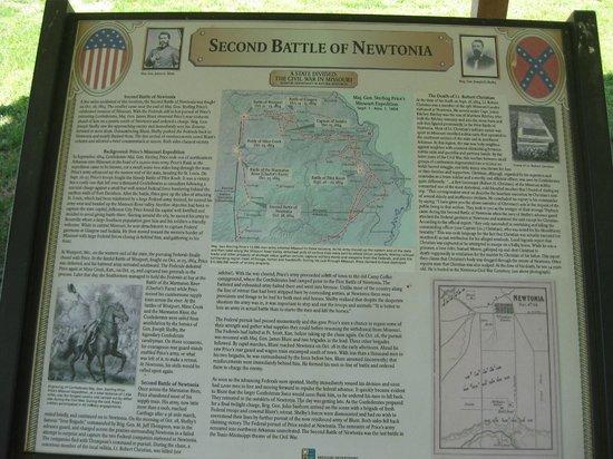 Newtonia, MO: Marker 2