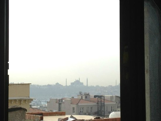 Galata Cosmic Hostel : view