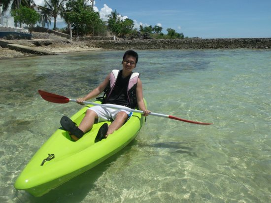 Virgin Beach Resort: Kayaking