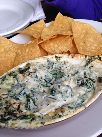 Rita's Seaside Grille: Blue Crab and Artichoke dip. Awesome!