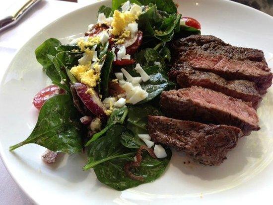 Tasting Room : Steak salad