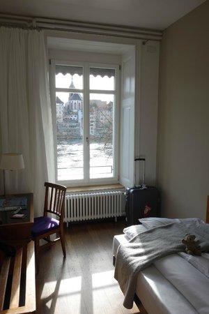Hotel Krafft Basel: Inside of a room