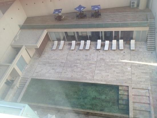 Dazzler Recoleta: vista desde mi habitación del 5to piso