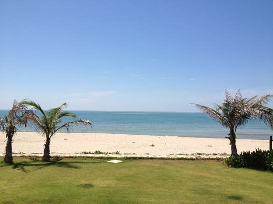 I-Tara Resort & Spa: panoramic ocean view from beach front villa