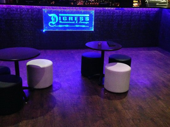 Digress Restaurant & Lounge: Lounge 2