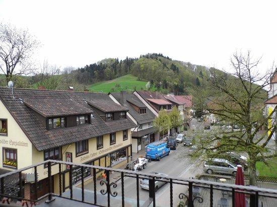Schwarzwaldgasthof Zum goldenen Engel: View from the balcony