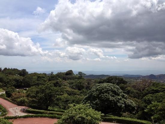 El Establo : uitzicht vanaf balkon
