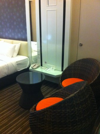 The Sterling Boutique Hotel Melaka: Spacious seating