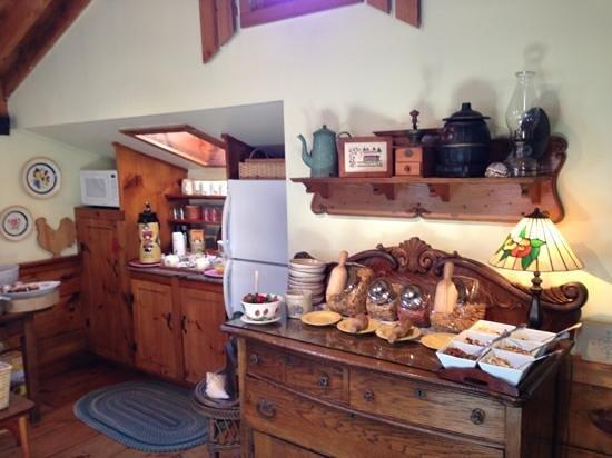 Revere Guest House: colazione