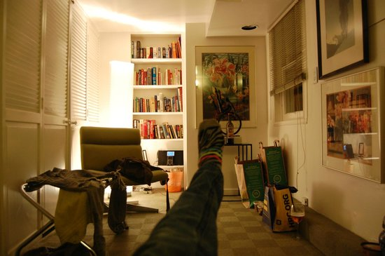 Inn on Castro: Livingroom