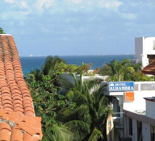 Hotel El Punto: view