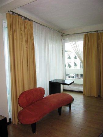 Hotel El Punto: master suite
