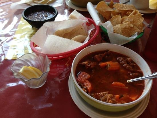 Mando's Restaurant: best Mexican soup ever!