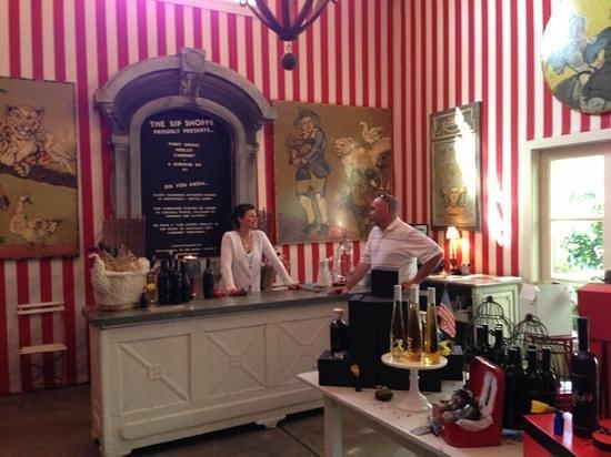 Swanson Vineyards Salon Aufnahme