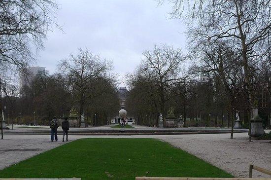 Parc de Bruxelles: 公園内