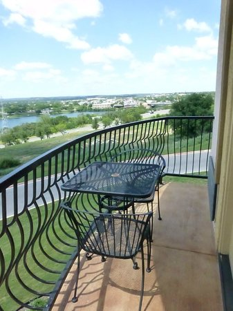 La Quinta Inn & Suites Marble Falls: Balcony and Amazing View
