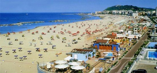 Cattolica, Italie : Beach