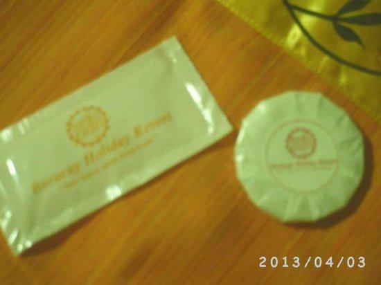 Boracay Holiday Resort: complimentary shampoo and soap