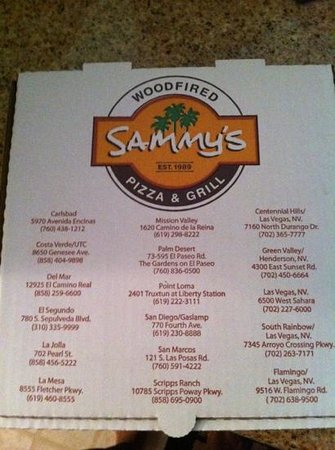 Sammy's Woodfired Pizza & Grill - Sahara