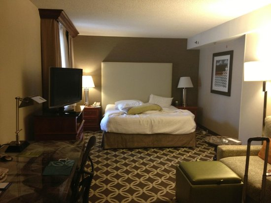 Hilton Garden Inn Washington, DC Downtown: Jr. Suite with King size bed