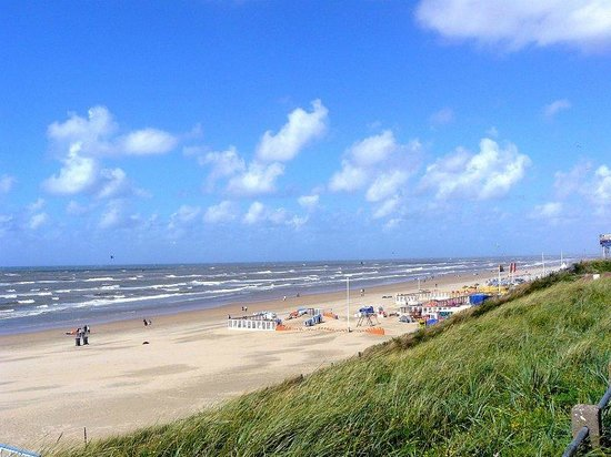 Zandvoort, Hollanda: Beach