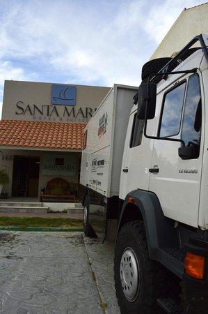 Santa Maria Hotel & Suites: Acceso hotel