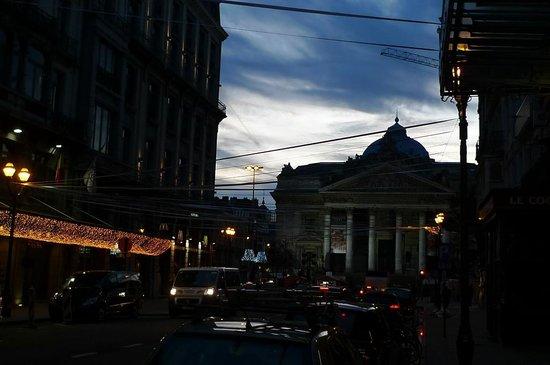 Rue Antoine Dansaert: 証券取引所
